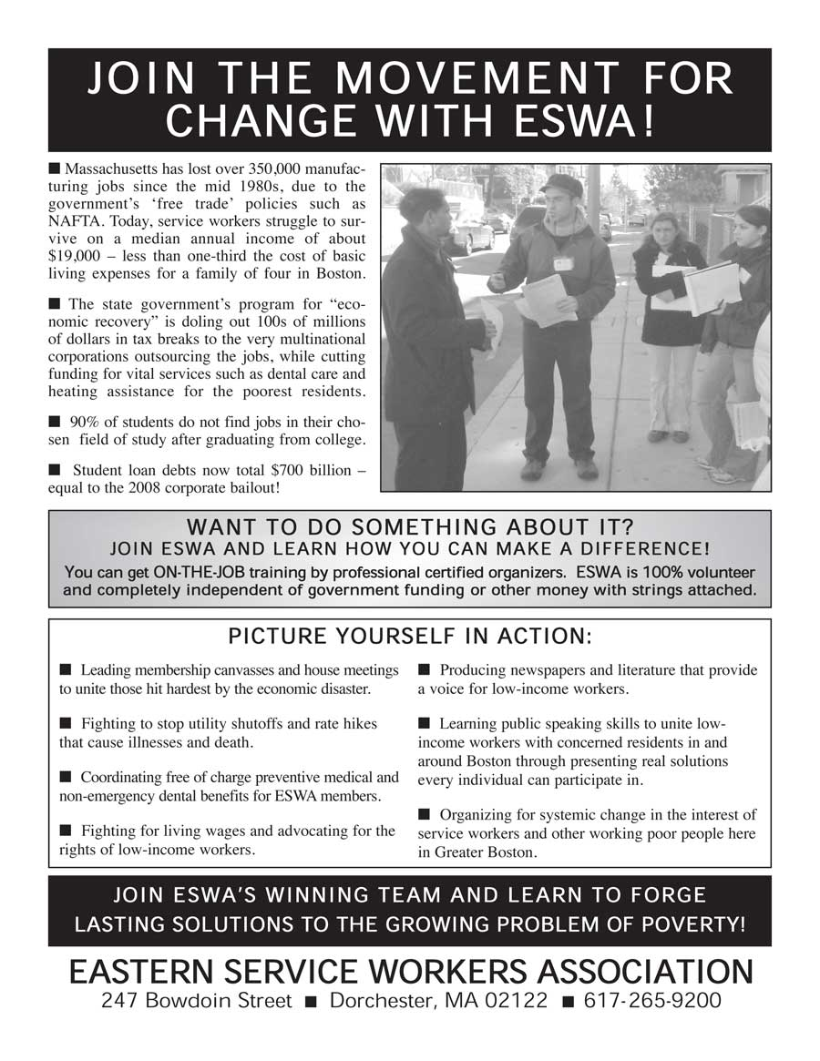 Join the Movement for Change with ESWA!